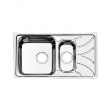 Кухонная мойка Iddis Arro ARR78PXi77 78 x 44 см, чаша слева, полированная