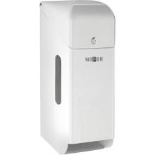 Диспенсер для туалетной бумаги Nofer 05100.W белый