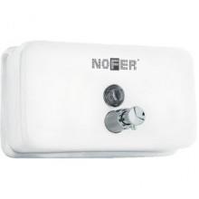 Диспенсер для мыла Nofer Inox  03002.W белый