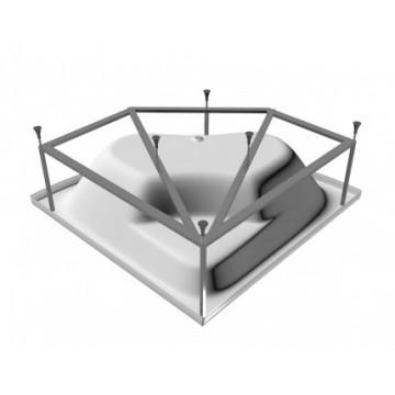 Каркас для ванны Vayer Boomerang Гл000010632 150x150 см