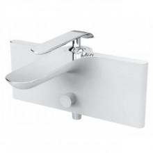 Cмеситель для ванны Creavit Bloom BL2522-B белый