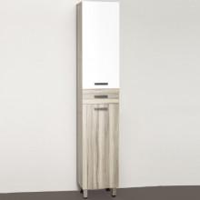 Шкаф-пенал Style Line Ориноко 36 ЛС-00000385 белый, ориноко