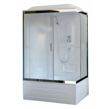 Душевая кабина Royal Bath RB8100BP1-M-CH-L (матовое)