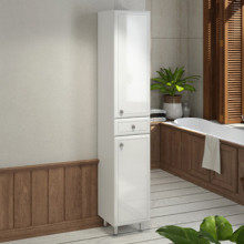 Шкаф-колонна Comforty Сочи-35 белый