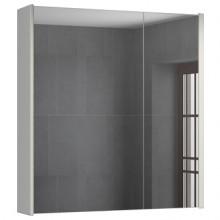 Зеркало-шкаф Comforty Женева-75 дуб белый