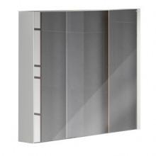 Зеркало-шкаф Comforty Женева-90 дуб белый