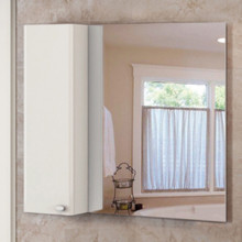 Зеркало-шкаф Comforty Неаполь-100 белый