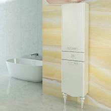 Шкаф-колонна Comforty Монако-40 левая, белая