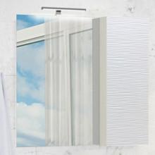 Зеркало-шкаф Comforty Генуя-75 белый