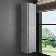 Шкаф-колонна Comforty Эдинбург-40 бетон светлый