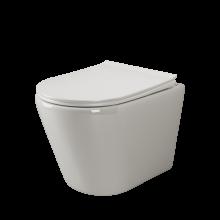 Подвесной унитаз Ceramica Nova Highlight CN1804 микролифт, безободковый