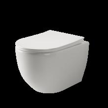 Подвесной унитаз Ceramica Nova Mia CN1805 безободковый, микролифт