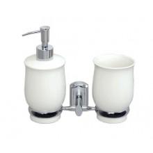 WasserKRAFT K-24189 Держатель стакана и дозатора