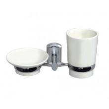 WasserKRAFT K-28126 Держатель стакана и мыльницы