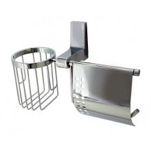 WasserKRAFT Lopau K-6059 Держатель туалетной бумаги и освежителя