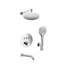 WasserKRAFT A175817 Thermo Встраиваемый комплект для ванны с верхней душевой насадкой, лейкой и изливом