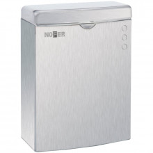Контейнер для мусора с крышкой 5 л Nofer Paper 09002.S матовый