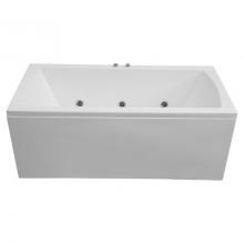 Акриловая ванна Bas Индика 170x80 без  гидромассажа