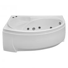 Акриловая ванна Bas Флорида 160x90 без гидромассажа