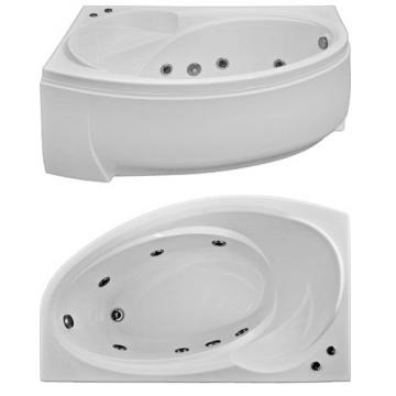 Ванна акриловая Bas Фэнтази 150x90 без гидромассажа