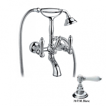 Смеситель для ванны Nicolazzi Classica 1401CR78 Petit Mont Blanc