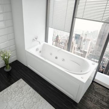Акриловая ванна Aquatek | Акватек Леда 170x80 без гидромассажа