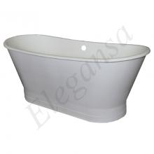 Чугунная ванна Elegansa Sabine White отдельностоящая