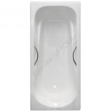 Чугунная ванна Castalia Paola 170x75 с ручками