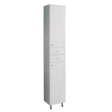 Шкаф-колонна Акватон Минима 1A132303MN01L с бельевой корзиной