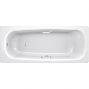 Стальная ванна BLB Universal HG B70H 170x70 с отверстиями под ручки