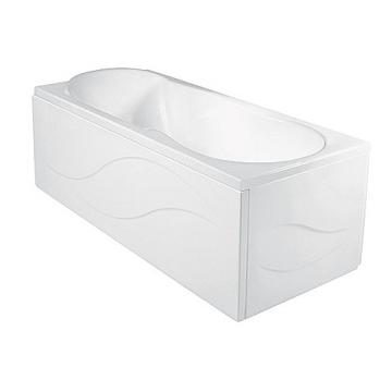 Ванна акриловая Jika Floreana 150x75 XL углубленная + монтажный комплект