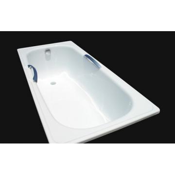 Стальная ванна Estap DeLux 160 с ручками в комплекте
