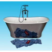 Чугунная ванна Elegansa Sabine Polished отдельностоящая