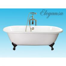 Чугунная ванна Elegansa Gretta Bronze отдельностоящая