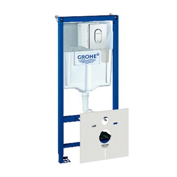 Инсталляция для подвесного унитаза Grohe Rapid SL 38911000 5 в 1 с GROHE Fresh