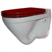 Навесной | подвесной  унитаз Sanita Luxe Attica Luxe Color Red ATCSLWH0102