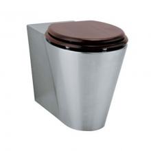 Унитаз из нержавейки Teka WC000 без сидения