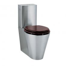 Унитаз из нержавейки Teka WC007 без сидения