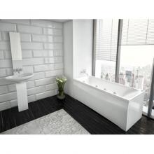 Акриловая ванна Aquatek | Акватек Альфа 140х70 с гидромассажем Standard (пневмоуправление)
