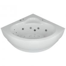 Акриловая ванна Aquatek | Акватек Калипсо 146х146 с гидромассажем Standard (пневмоуправление)