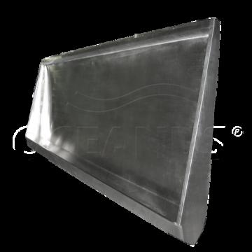 Писсуар желобковый из нержавейки Oceanus 2-015.1(L)/(R), матовый