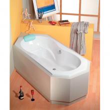Акриловая ванна Alpen FUGA 180x80