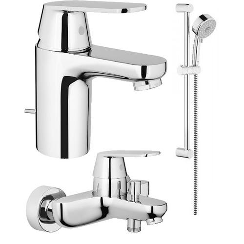 Комплект смесителей grohe eurosmart cosmopolitan 116938 купить проекты ванных комнат чертежи
