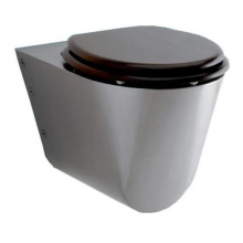 Унитаз из нержавейки Teka WC006 без сидения