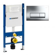 Инсталляция для подвесного унитаза Geberit Duofix 458.160.00.1 с клавишей  Delta 51