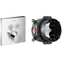 Комплект / Набор смесителей Hansgrohe Select 15763000 внешняя часть + Скрытая часть Ibox universal 01800180
