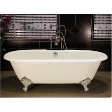 Чугунная ванна Novial Milagros 167х76 отдельностоящая