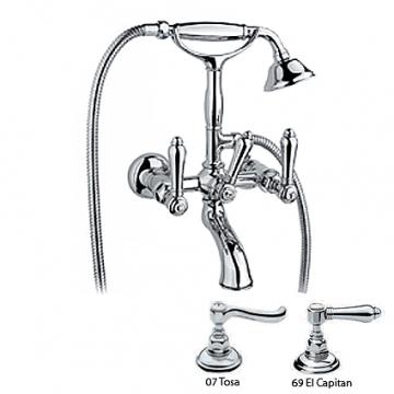 Смеситель для ванны Nicolazzi Classica 1401CR69 El Capitan