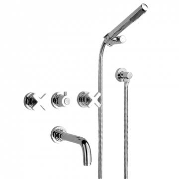 Смеситель для ванны Nicolazzi M.Croce 2203CR27