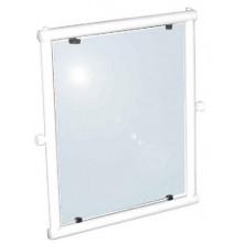 Зеркало с регулируемым углом наклона 63х37 см Nofer 08025.W